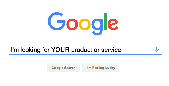 Google search for your business