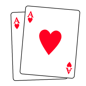 Two aces - an exact match